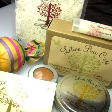 Winners!  Lotion Bar Cafe Giveaway!