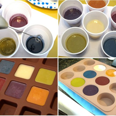 Creating Custom Colors using Oxides and Ultramarines – Color Palette 1