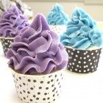 piped cupcake soap