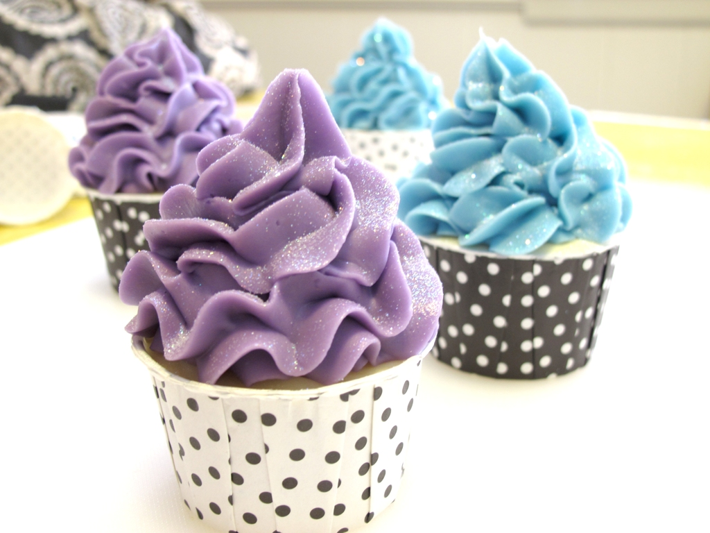 Cake Icing Recipe For Piping: Piping Soap Cupcakes