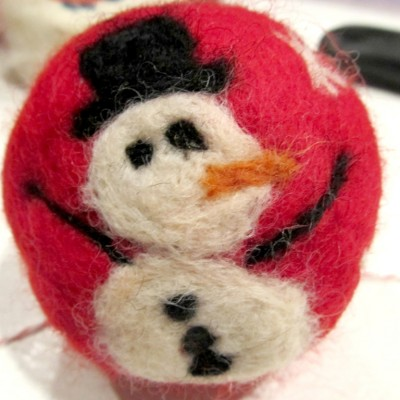 Felted Sweater Ball Soaps by Holly Port