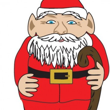 Adorable Santa Gnome – Free embed download