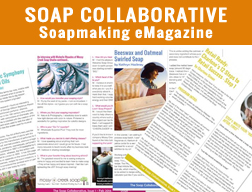 A new soapmaking Ezine – The Soap Collaborative