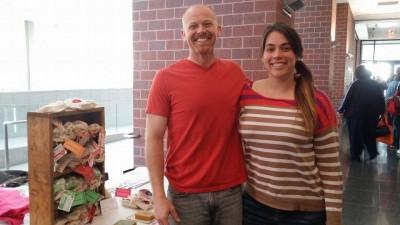 Benjamin and Amanda at Central Soapers Workshop