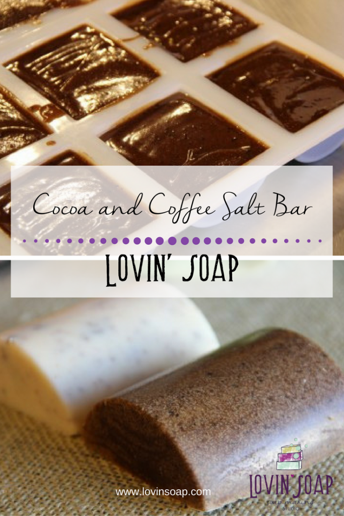 Cocoa and Coffee Salt Bar