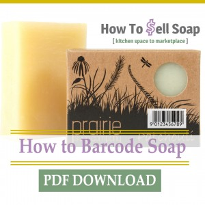How To Barcode Soap by Benjamin Aaron