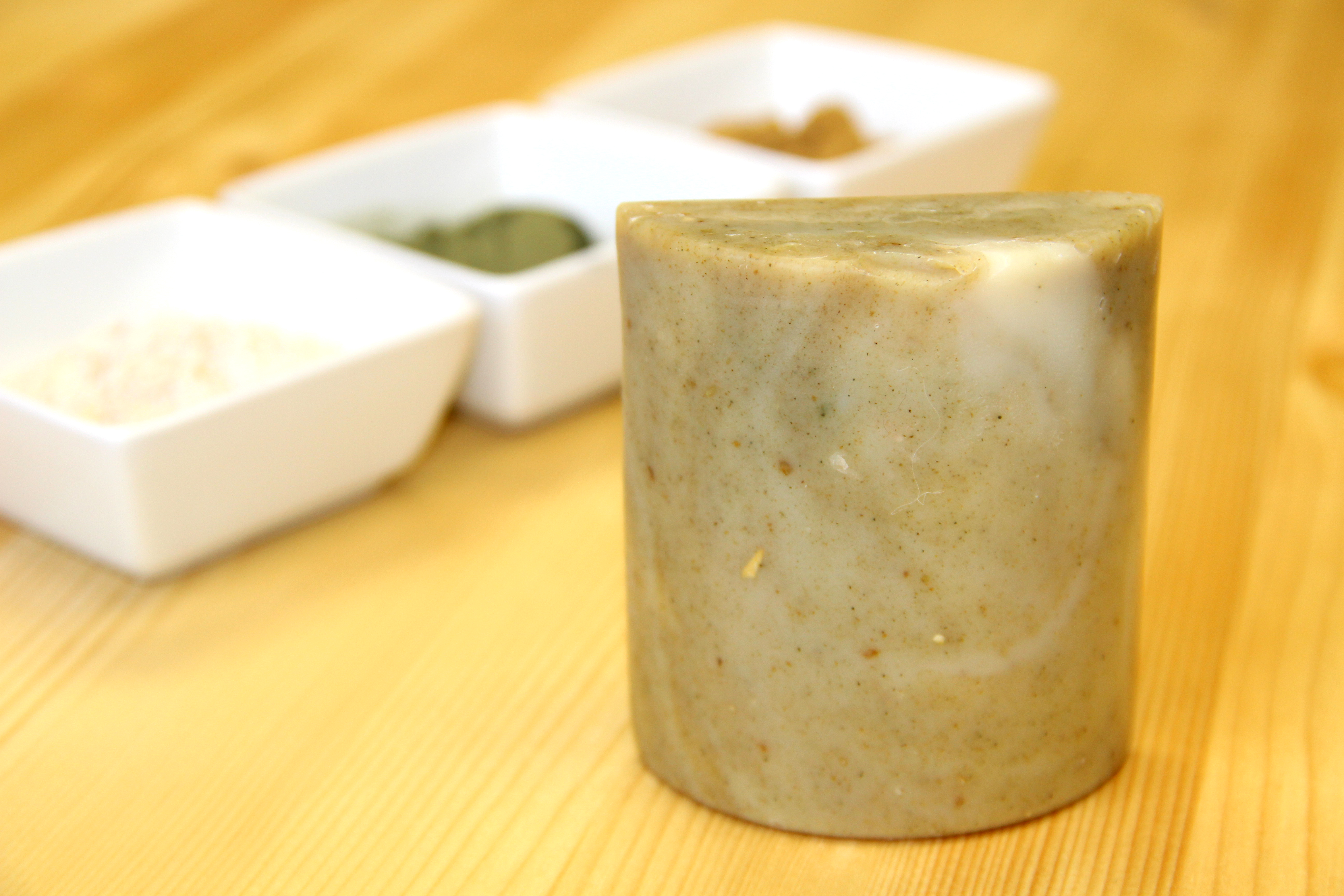 chamomile oatmeal nettle cold process soap recipe