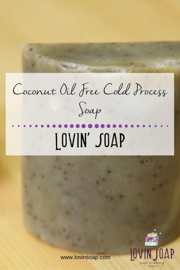 Coconut Oil Free Cold Process Soap