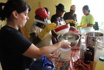 Teaching in Haiti