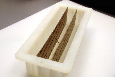 cardboard divider soap mold