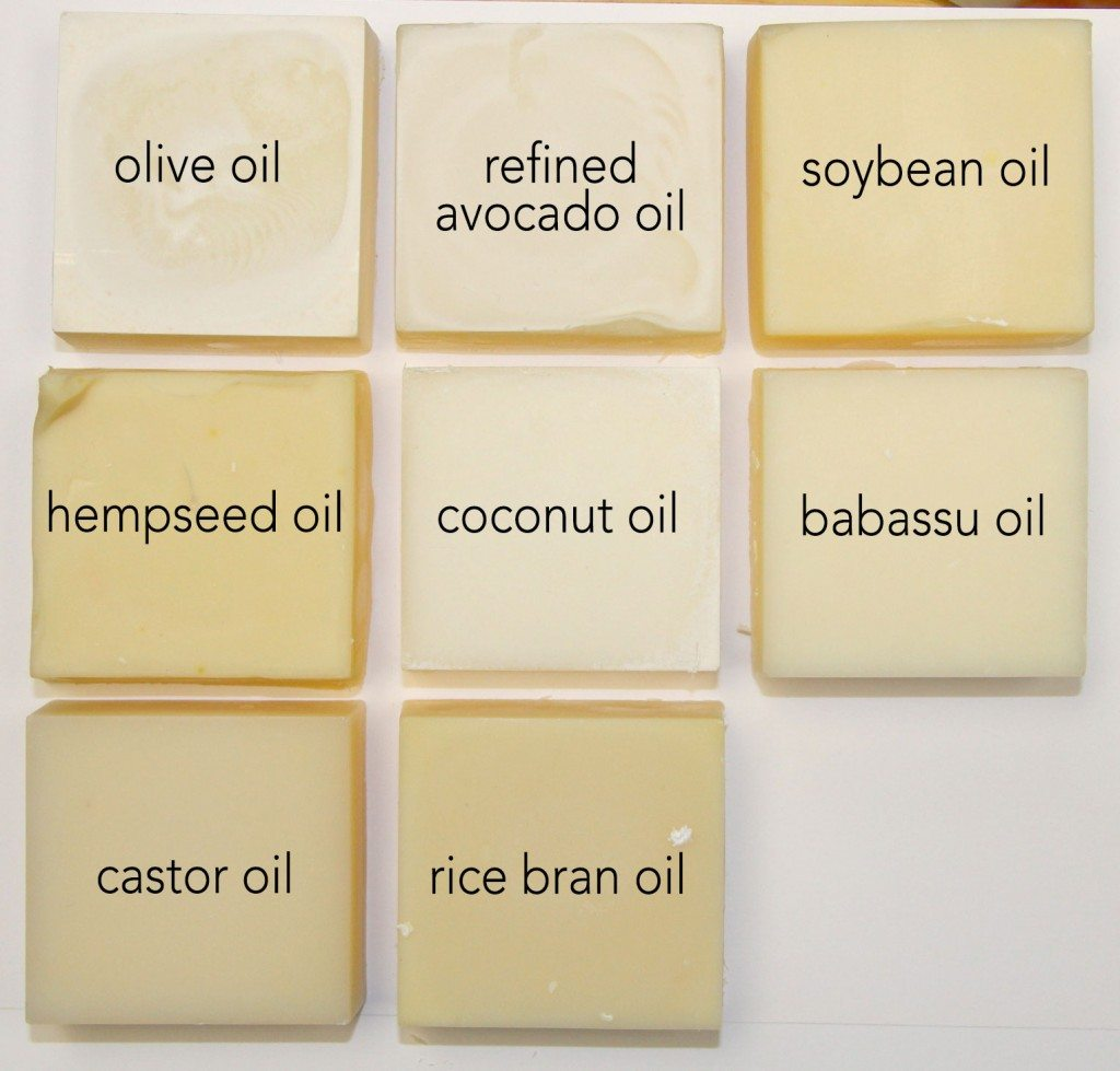 Single Oil Soaps Learning Saponified Properties Of
