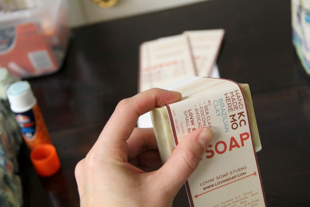 paper wrapped soaps
