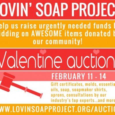 Lovin Soap Project Valentine's Auction