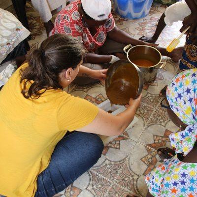 Making Soap in Senegal