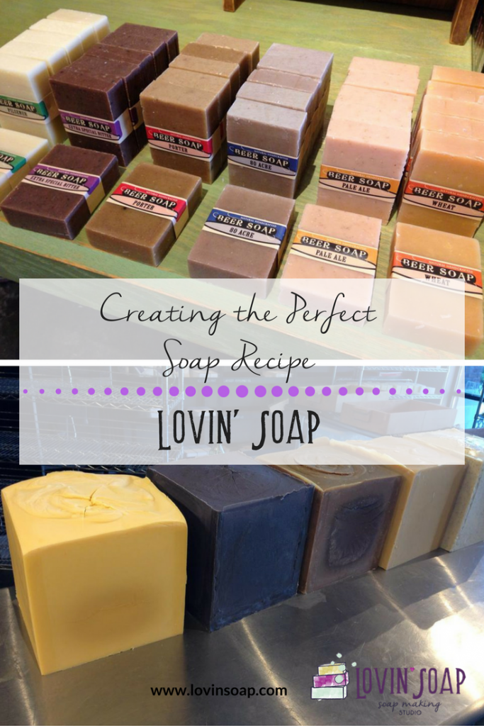 creating the perfect soap recipe