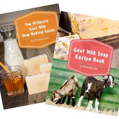 New Book – Ultimate Goat Milk Soap Making Guide + Goat Milk Soap Recipe Book (eBook Bundle)