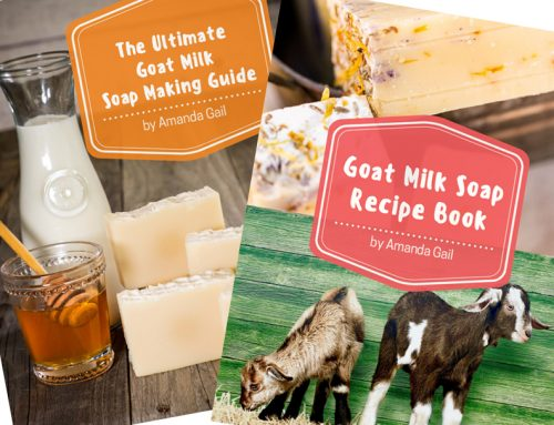 New Book – Ultimate Goat Milk Soap Making Guide + Goat Milk Soap Recipe Book (eBook Bundle)