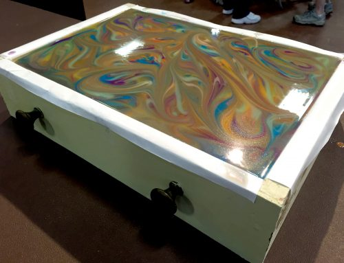 35 Color Soap Swirl at the Alabama Soap Conference