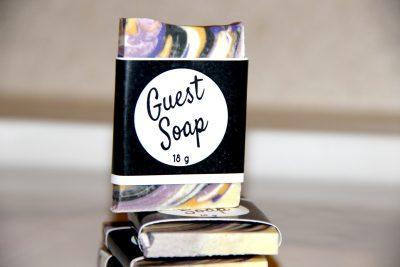 natural guest soap