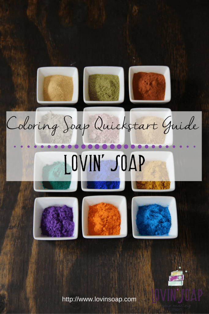 coloring soap quickstart guide