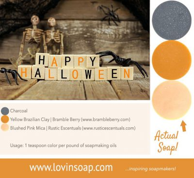 halloween soap colorants