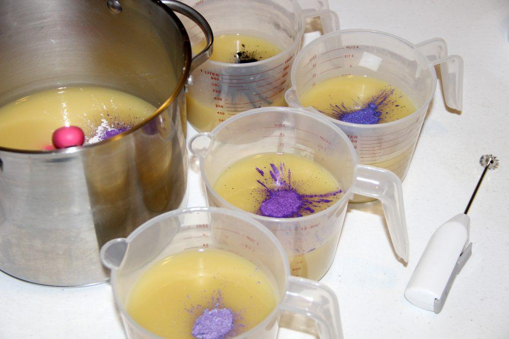 purple mica for soap