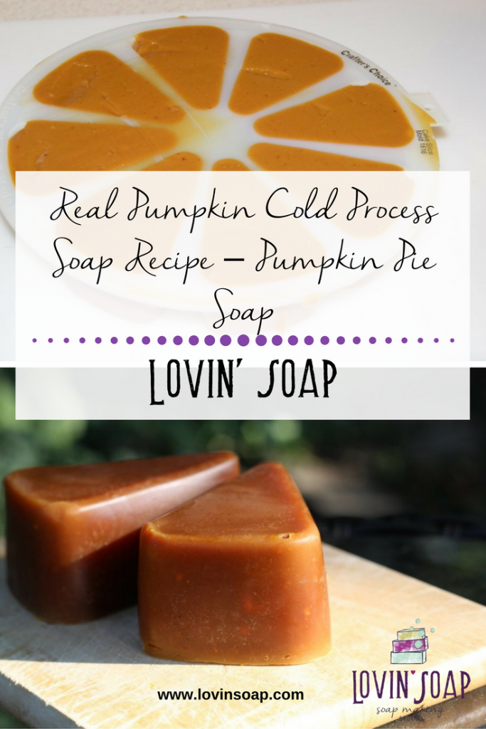 real pumpkin soap recipe