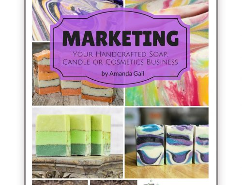 New eBook Coming Soon – Marketing Your Handcrafted Soap, Candle or Cosmetics Business