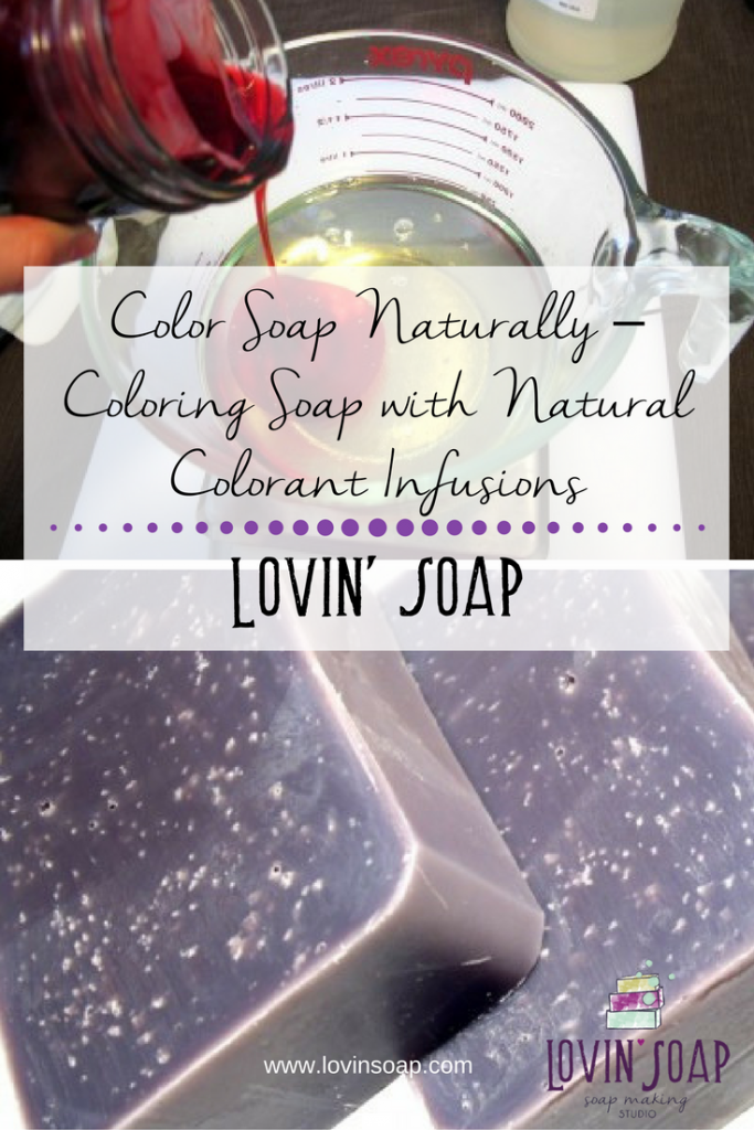 Color Soap Naturally – Coloring Soap with Natural Colorant ...
