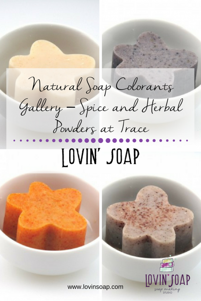 Natural Soap Colorants Gallery – Spice and Herbal Powders at Trace ...