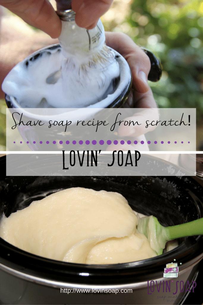 shave soap recipe
