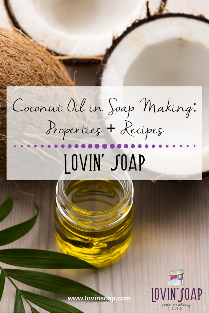 Coconut Oil in Soapmaking