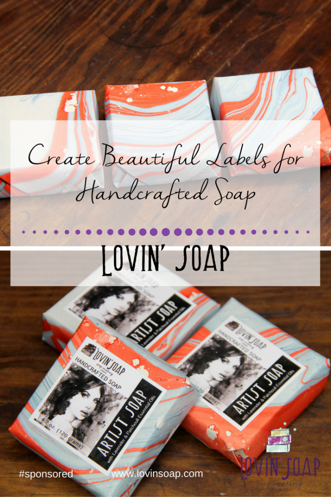 create beautiful labels for handcrafted soap
