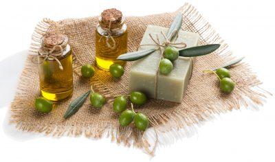 Olive oil in soap