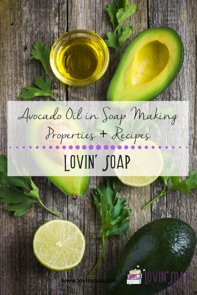 Avocado Oil in Soap making