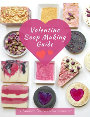 Essential Oil Blends And Fragrance Oils For Valentine Cold Process
