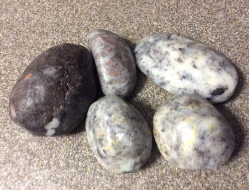 How to Make Soap That Looks Like a River Rock by Niña Thompson