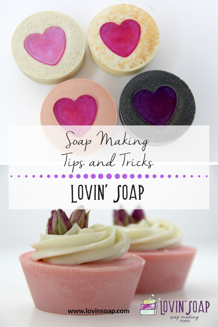 soap making tips and tricks