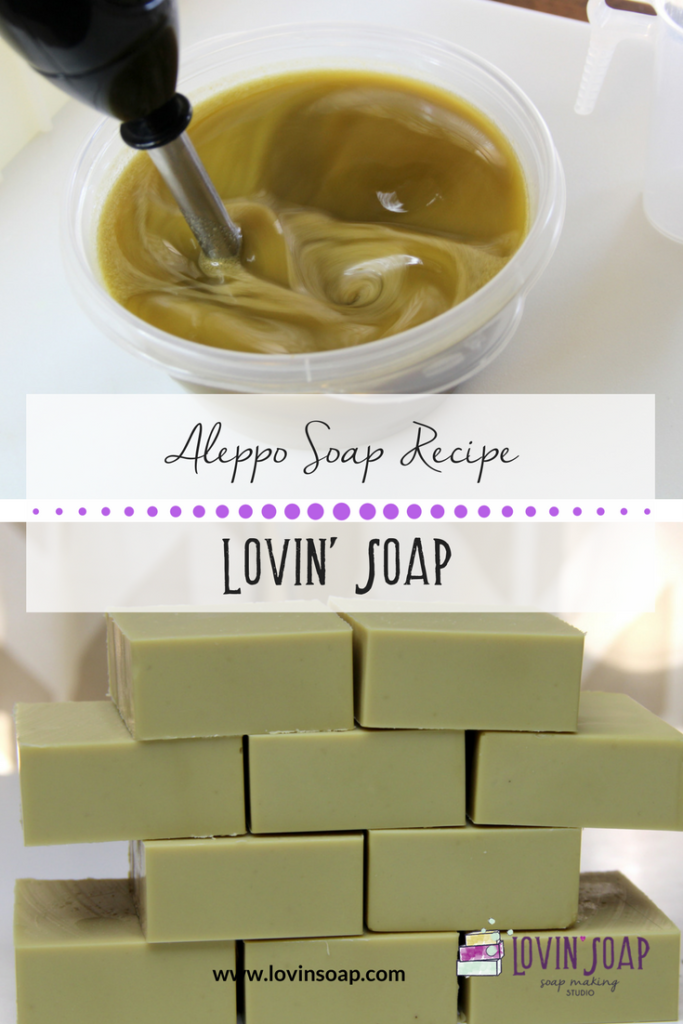 Aleppo Soap Recipe