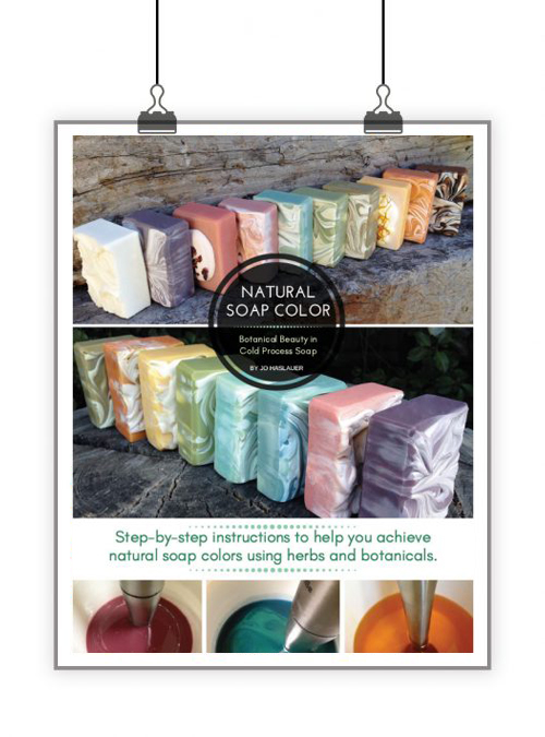 Natural Soap Color eBook by Jo Haslauer – Lovin Soap Studio