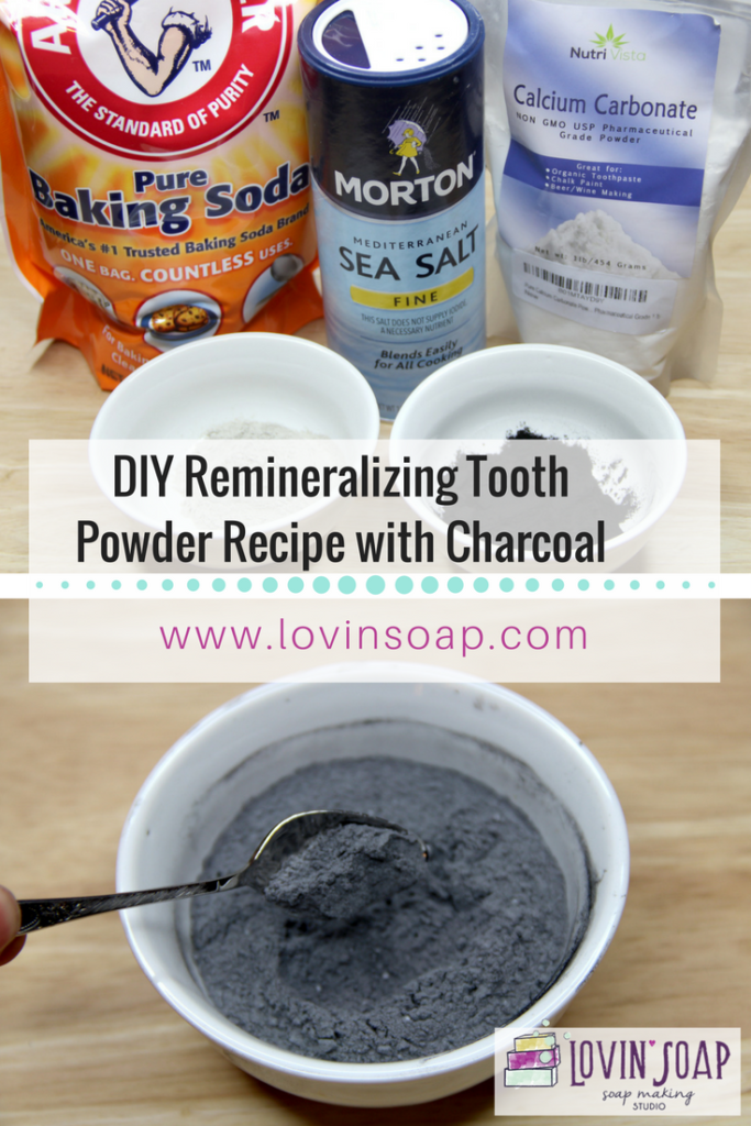 DIY Remineralizing Tooth Powder Recipe with Charcoal