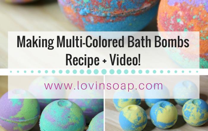 Multi Colored Bath Bombs