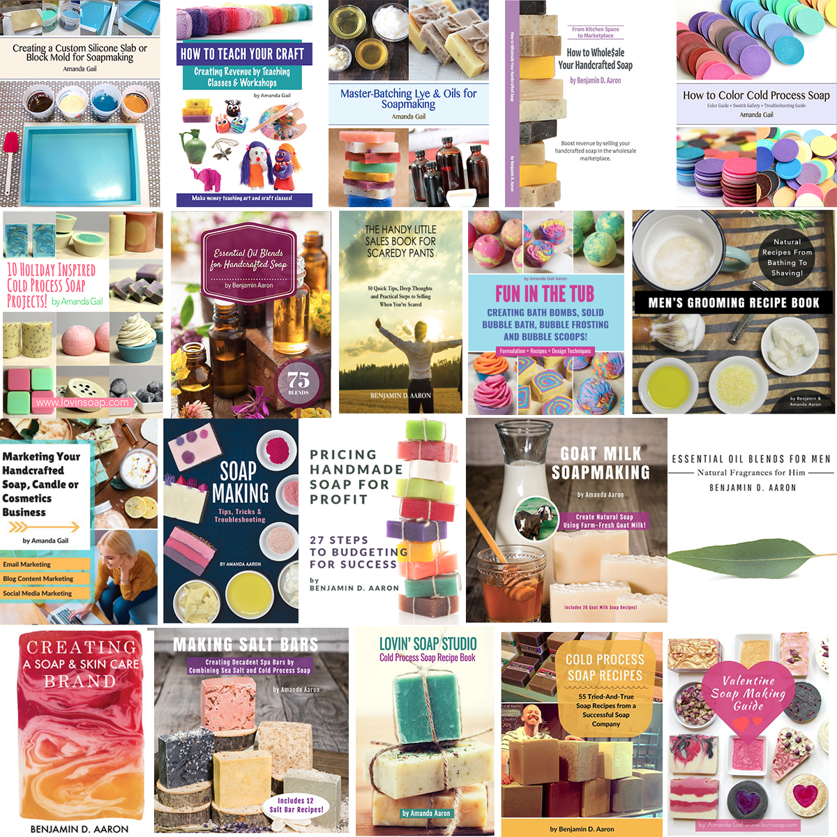 Ultimate Soap Maker Ebook Bundle 370 Value