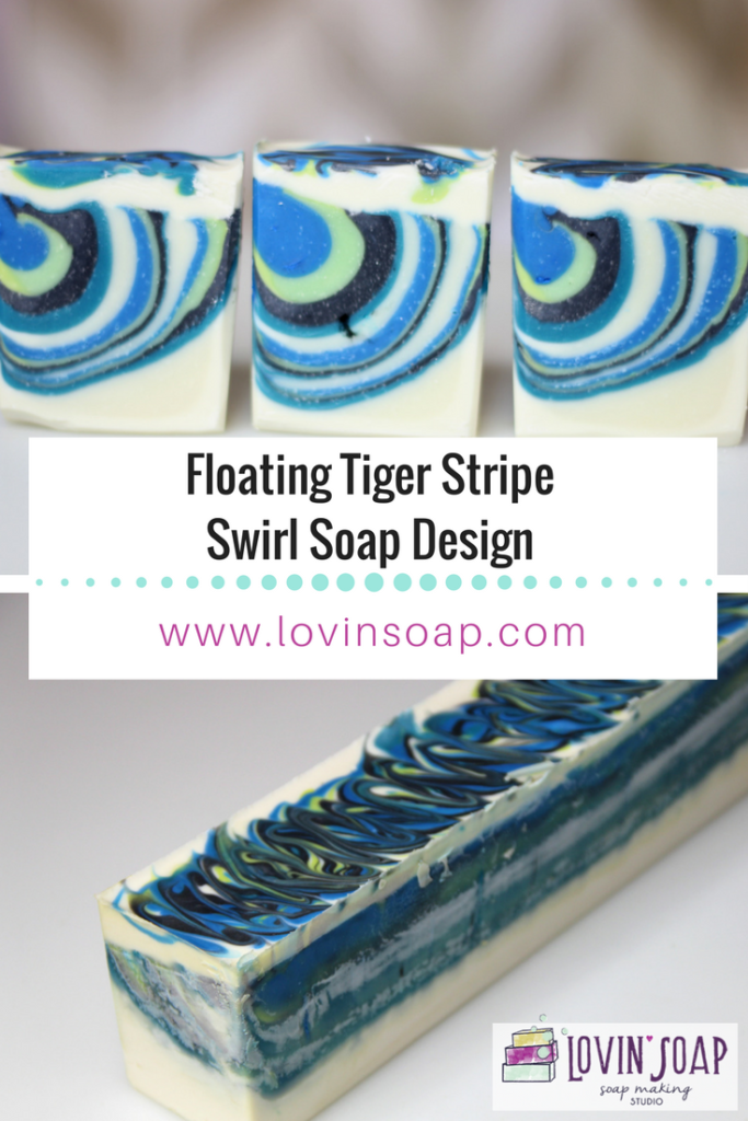 Tiger Stripe Soap Design