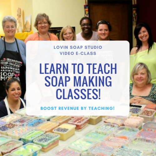 how to make soap classes