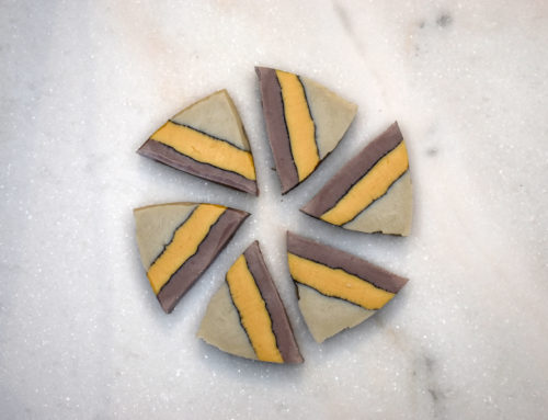 Natural Brazilian Clay Layered Triangle Soap Design (Video)