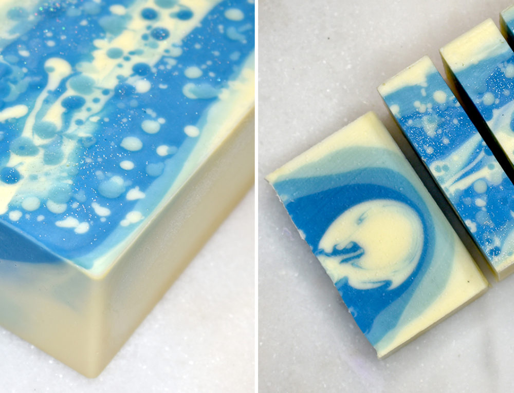 Winter Wonderland Cold Process Soap Design (Video)