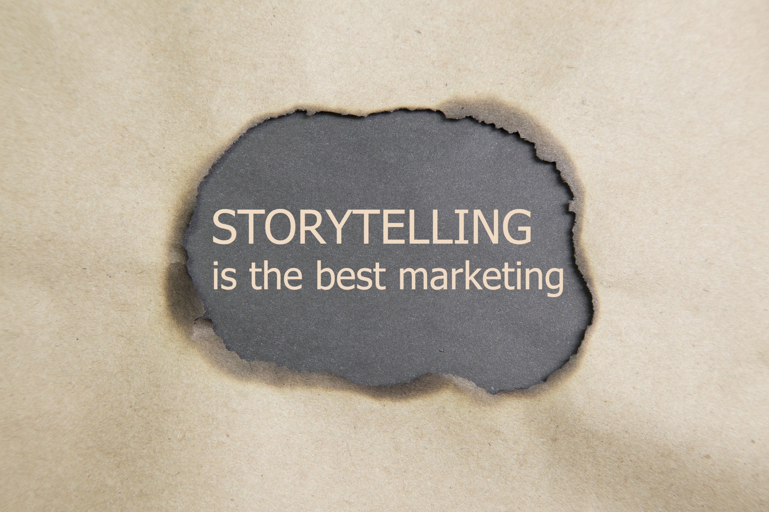 Storytelling – An important part of branding.