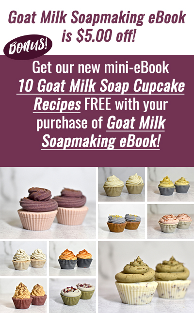 10 goat milk soap cupcake recipes