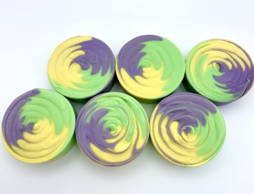 Mardi Gras Cold Process Soap by Robyn French Smith